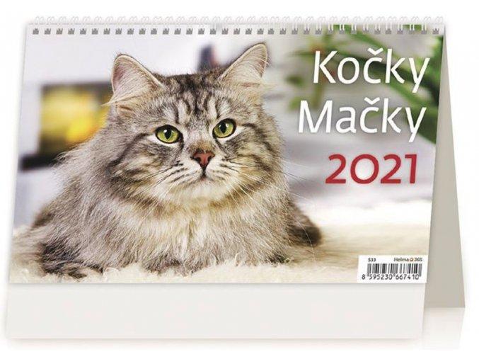 Kalendář Kočky