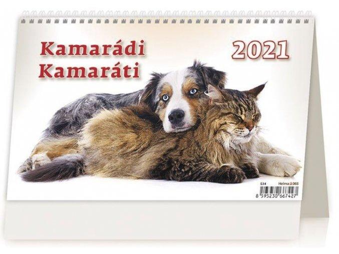 Kalendář Kamarádi
