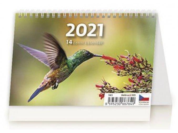 MINI 14denní kalendář