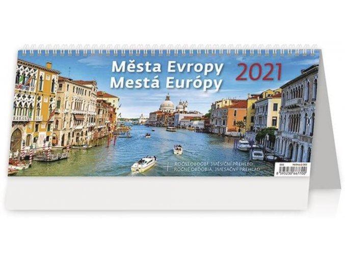 Kalendář Města Evropy