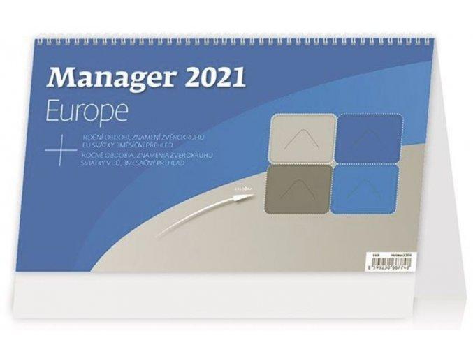 Kalendář Manager Europe