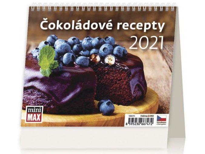 Kalendář Čokoládové recepty