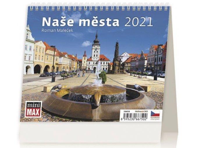 Kalendář Naše města