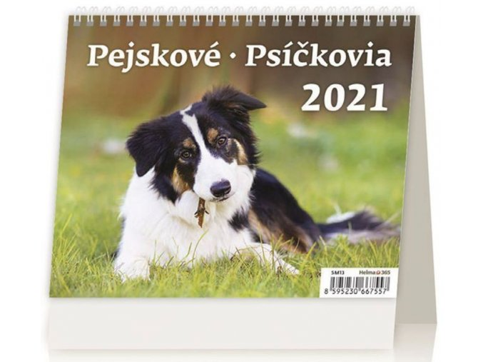 Kalendář Pejskové