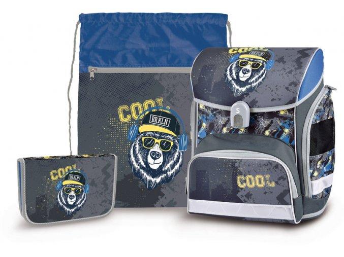 Školní set Cool bear  + zdarma dárek dle vlastního výběru