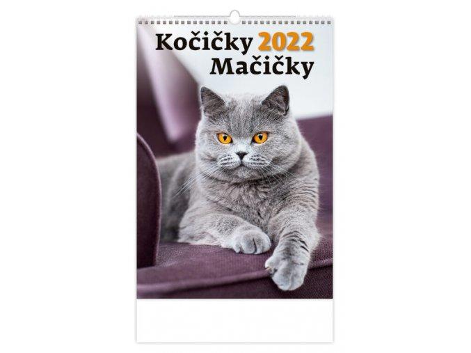 Kalendář Kočičky/Mačičky