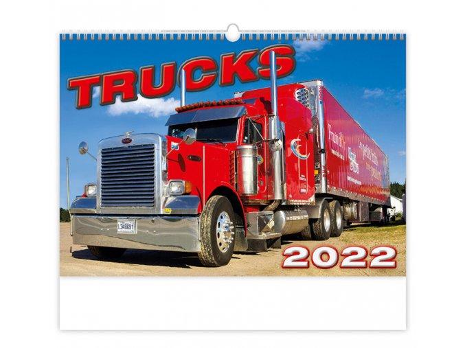 Kalendář Trucks