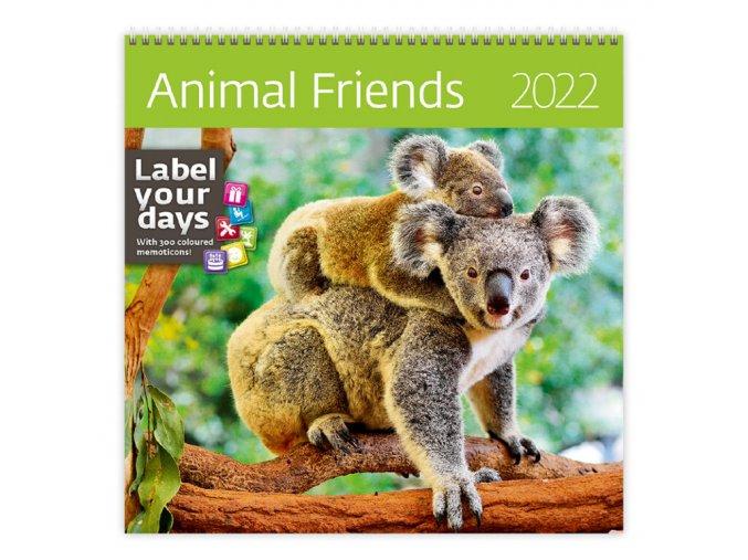 Kalendář Animal Friends
