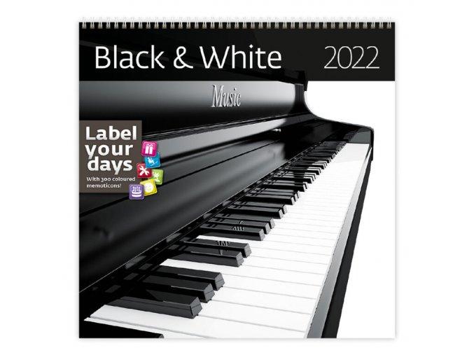 Kalendář Black & White