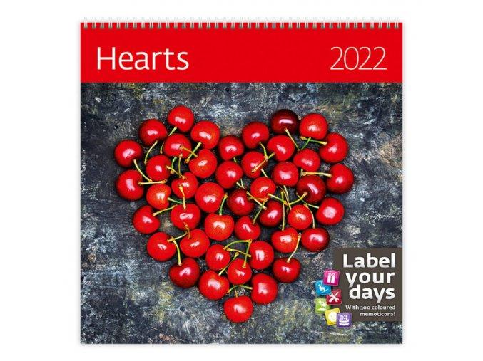 Kalendář Hearts
