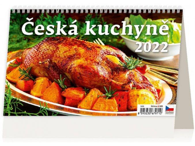 Kalendář Česká kuchyně