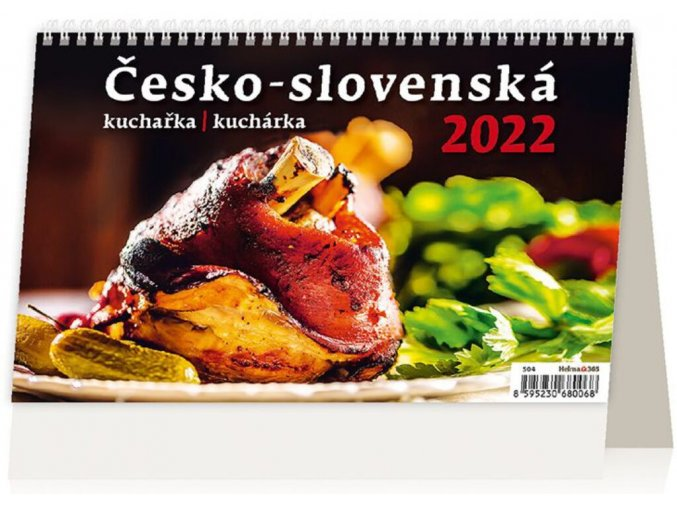 Kalendář Česko-slovenská kurařka/kuchárka