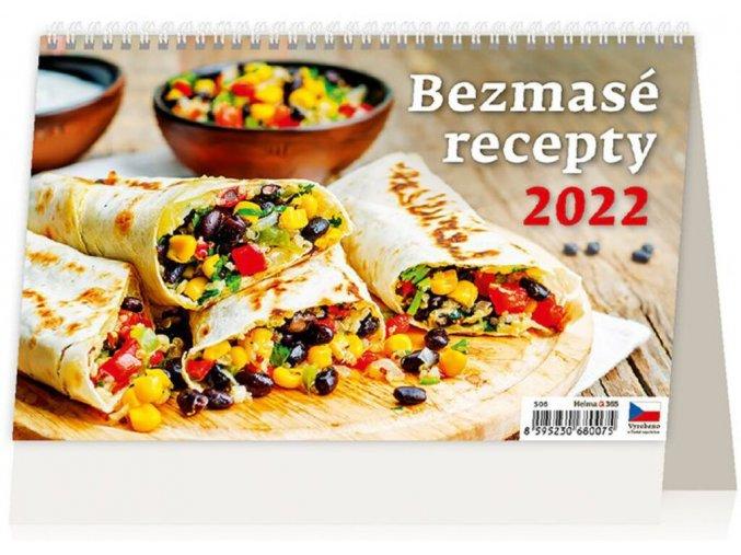 Kalendář Bezmasé recepty