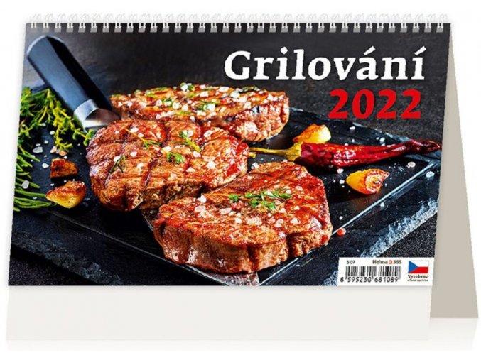Kalendář Grilování