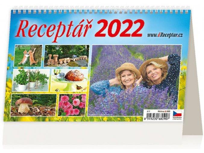 Kalendář Receptář