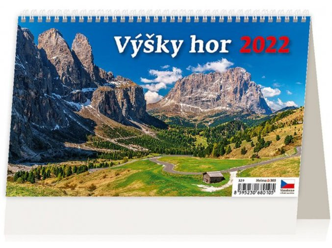 Kalendář Výšky hor