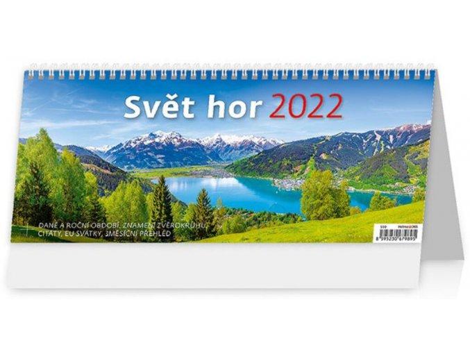 Kalendář Svět hor