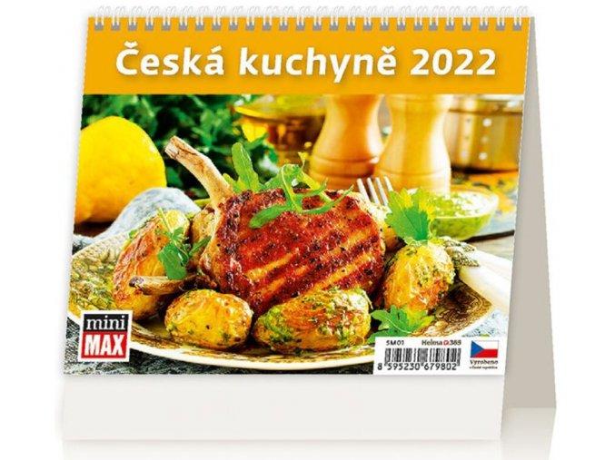 Kalendář MiniMax Česká kuchyně