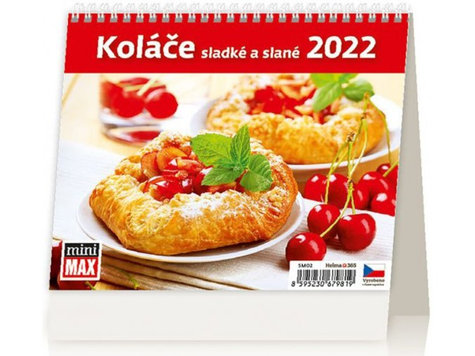 Kalendář MiniMax Koláče sladké a slané