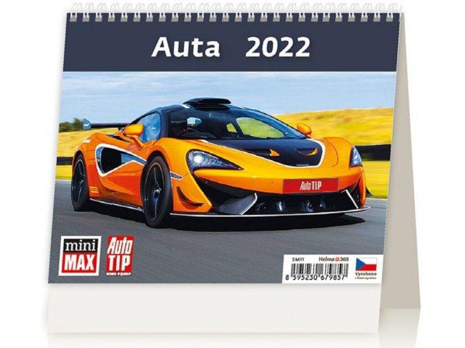 Kalendář MiniMax Auta