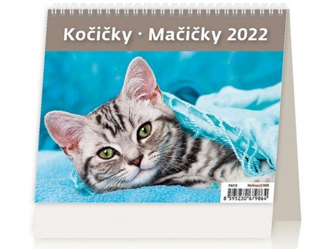 Kalendář MiniMax Kočičky/Mačičky