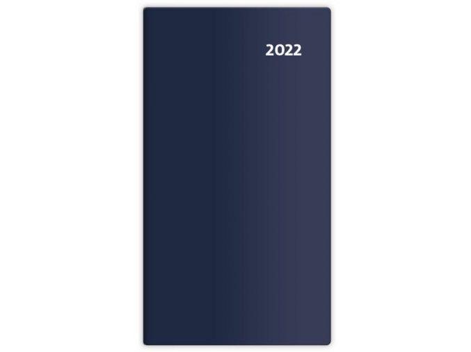 Kapesní diář čtrnáctidenní Torino - modrá/blue