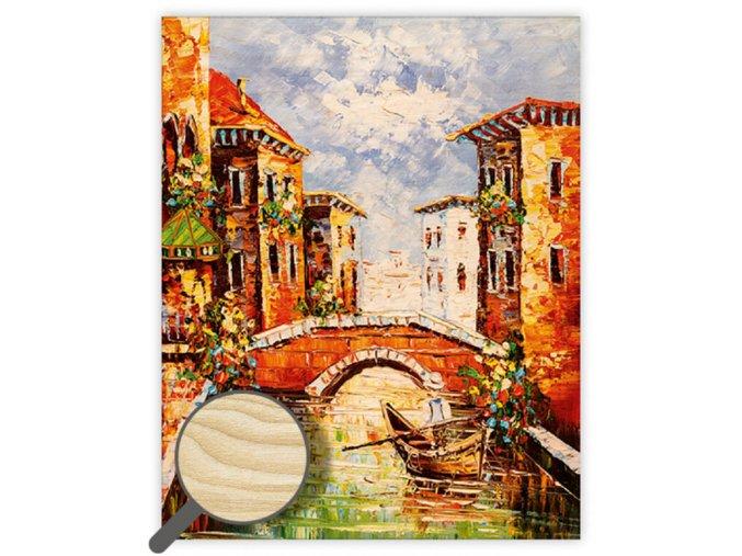 Dřevěný obraz Venezia III.