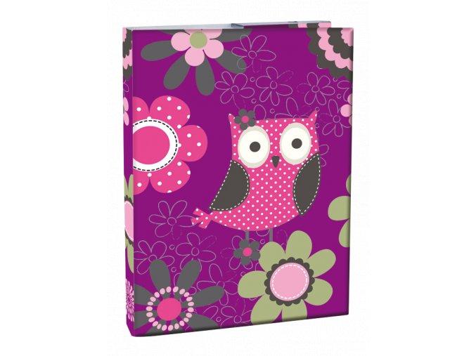 Box na sešity A4 Owl