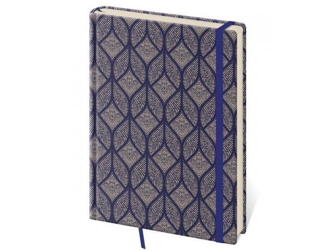 Tečkovaný zápisník Vario B6 (M) design 4 (čtverečkovaný)