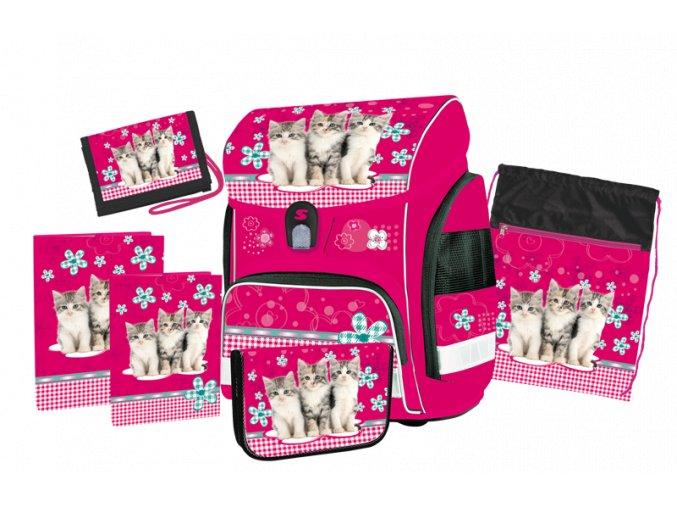 Školní set Cats s dárkem  + dárek dle vlastního výběru
