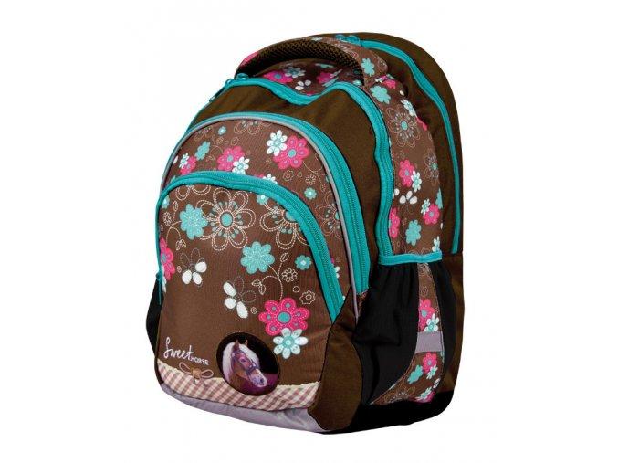 Školní batoh Junior Sweet Horse s dárkem  + dárek dle vlastního výběru