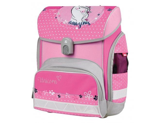 Školní aktovka pro prvňáčky Unicorn s dárkem  + zdarma dárek dle vlastního výběru