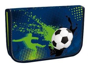 Školní penál jednopatrový Football 3