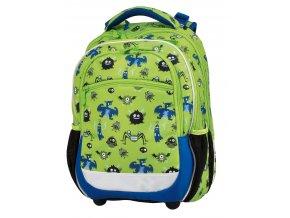 Školní batoh Monsters s dárkem