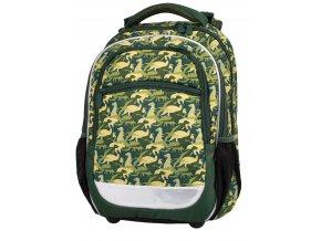 Školní batoh Camo Colour s dárkem