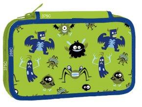Školní penál třípatrový Monsters