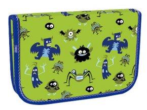 Školní penál jednopatrový Monsters