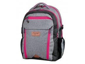 Studentský batoh Original pink s dárkem  + zdarma dárek dle vlastního výběru