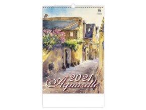 Kalendář Aquarelle