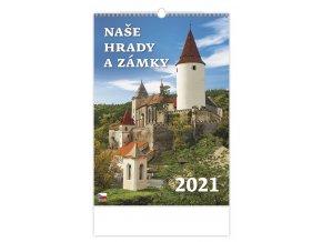 Kalendář Naše hrady a zámky