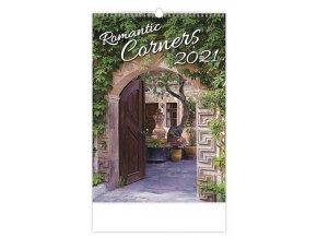 Kalendář Romantic Corners