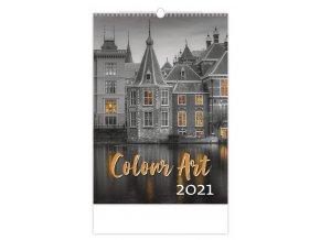 Kalendář Colour Art