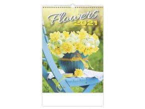 Kalendář Flowers