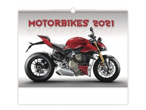 Kalendář Motorbikes