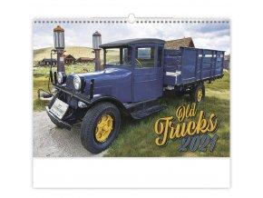 Kalendář Old Trucks