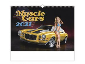 Kalendář Muscle Cars
