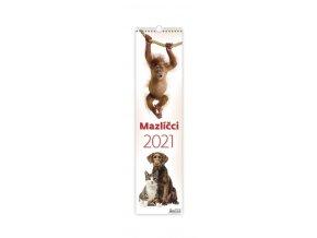 Kalendář Mazlíčci - vázanka