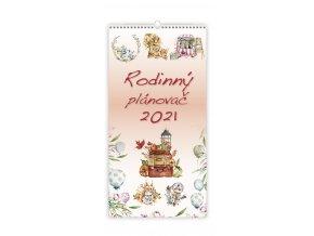Kalendář Rodinný plánovač