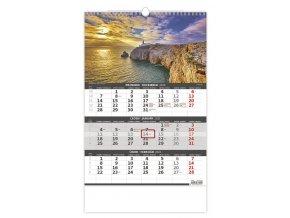 Tříměsíční kalendář Pobřeží