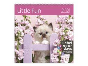 Kalendář Little Fun
